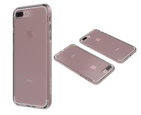 Body Clownfish Aluminium case for Glove iPhone 7 Plus Clear / Rose Gold